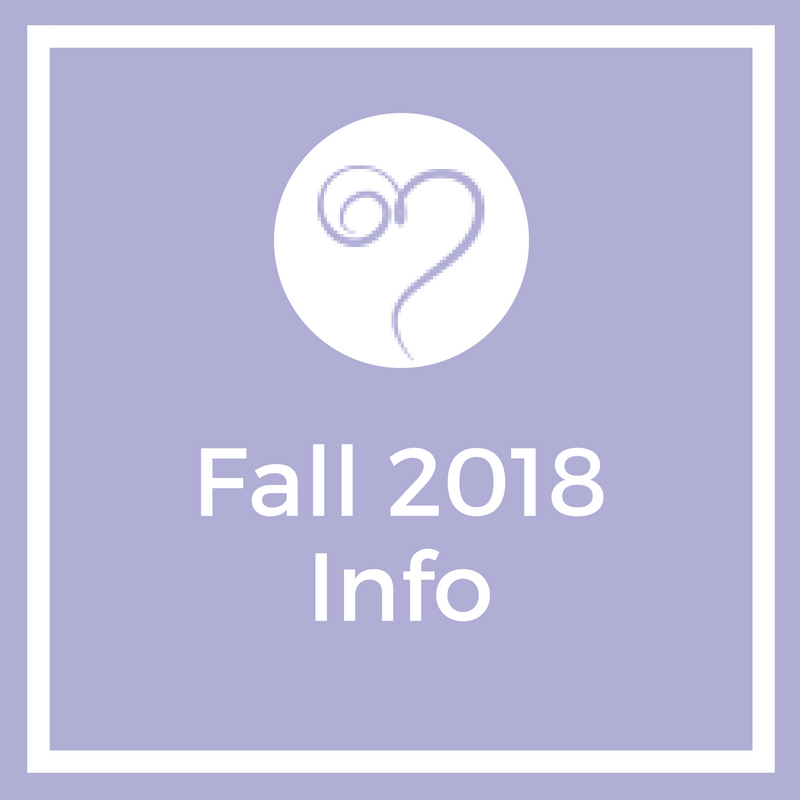 Link for Fall 2018 Information